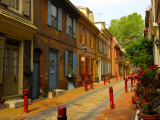 Elfreth's Alley, Philadelphia, Pennsylvania, USA Photographic Print by Ellen Clark