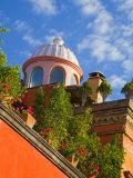 Dome of A Church, San Miguel De Allende, Guanajuato State, Mexico Papier Photo par Julie Eggers