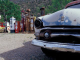 Roadside Route 66 Gallery, New Mexico, USA Photographic Print by Julie Bendlin