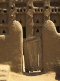 Primative Wooden Gate, Mali, West Africa Photographic Print by Ellen Clark