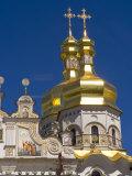Perchersk Lavra Church, Kiev, Ukraine Photographic Print by Bill Bachmann