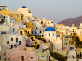 Scenic Oia, Santorini, Greece Photographic Print by Bill Bachmann