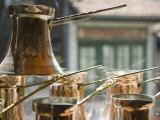Coffee Pots, Bascarsija Ottoman Era, Sarajevo, Bosnia & Hercegovina Photographic Print by Walter Bibikow