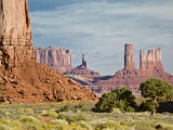 The North Window, Monument Valley Navajo Tribal Park, Utah, USA Photographic Print by Charles Crust