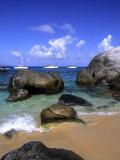 Baths of Virgin Gorda, British Virgin Islands, Caribbean Fotografie-Druck von Bill Bachmann