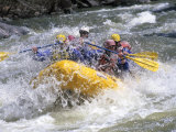 Whitewater Rafting, Montana, USA Photographic Print by Michael DeFreitas