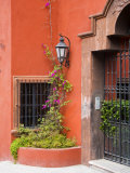 Exterior of a House, San Miguel, Guanajuato State, Mexico Photographic Print by Julie Eggers
