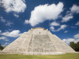 The Pyramid of The Magician, Uxmal, Yucatan, Mexico Photographic Print by Julie Eggers