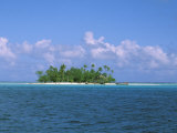 Small Island, Tahiti, French Polynesia, Oceania Photographic Print by Bill Bachmann