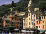 Beautifl Vista, Portofino, Italy Photographic Print by Bill Bachmann