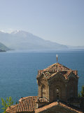 Sveti Jovan at Kaneo Church, Lake Ohrid, Macedonia Photographic Print by Walter Bibikow
