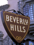 Beverly Hills Sign, Hollywood, California, USA Fotografie-Druck von Bill Bachmann