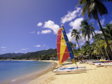 Carlisle Bay Beach, Antigua Photographic Print by Michael DeFreitas