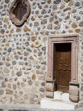 Unusual Stone Wall, San Miguel, Guanajuato State, Mexico Photographic Print by Julie Eggers