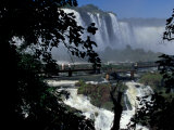 Salto Floriano, Foz Do Iguacu, Iguacu National Park, Parana, Brazil Photographic Print by Julie Bendlin