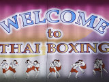 Welcome To Thai Boxing, Chiang Mai, Thailand Photographic Print by Adam Jones