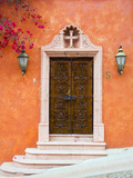 Casa With Bougainvillea, San Miguel, Guanajuato State, Mexico Photographic Print by Julie Eggers