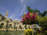 Wilayah Persekutuan Mosque, Kuala Lumpur, Malaysia Photographic Print by Ellen Clark