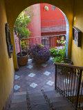 Casa De La Cuesta, San Miguel, Guanajuato State, Mexico Fotografisk tryk af Julie Eggers