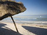 Beach of Progreso, Yucatan, Mexico Photographic Print by Julie Eggers