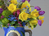Spring Flower Bouquet in Vase Photographic Print by Don Paulson