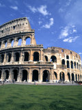 Colosseum Ruins, Rome, Italy Photographic Print by Bill Bachmann