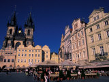 Church of Our Lady Before Tyn, Prague, Czech Republic Photographic Print by David Herbig
