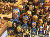 Wooden Nesting Dolls, Moscow, Russia Photographic Print by Bill Bachmann