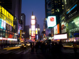 Times Square at Night, New York City, New York, USA Photographic Print by Bill Bachmann