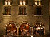 Restaurant near Main Square, San Miguel, Guanajuato State, Mexico Photographic Print by Julie Eggers