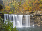 Cumberland Falls State Park near Corbin, Kentucky, USA Photographic Print by Chuck Haney