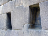 Trapezoidal Openings in Walls, Ollantaytambo, Sacred Valley of the Incas, Peru Photographic Print by Diane Johnson