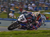 Motorcycle Racer, Mid Ohio Raceway, Lexington, Ohio, USA Photographic Print by Adam Jones