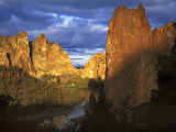 Smith Rocks State Park, Oregon, USA Photographic Print by Charles Gurche