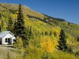 Ghost Town, Red Mountain Pass, San Juan Skyway, Us Highway 550, Colorado, USA Photographic Print by Cindy Miller Hopkins
