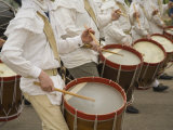 Drum And Fife Parade, Williamsburg, Virginia, USA Photographic Print by John & Lisa Merrill