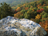 Autumn at White Rocks, Ozark-St. Francis National Forest, Arkansas, USA Photographic Print by Charles Gurche