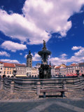 Ceske Budejovice, Czech Republic Photographic Print by David Herbig