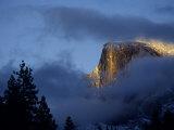 Half Dome at Sunset, Yosemite National Park, California Photographic Print by Alison Jones