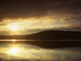 Lake at Sunrise, Lake of the Ozarks, Missouri, USA Photographic Print by Charles Gurche