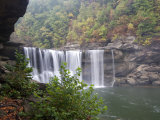 Cumberland Falls, Cumberland Falls State Resort Park, Kentucky, USA Photographic Print by Diane Johnson