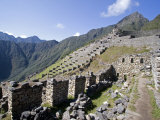 Looking Toward the Guardhouse, Machu Picchu, Peru Photographic Print by Diane Johnson