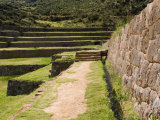 Inca Site of Tipon, Cusco, Peru Photographie par Diane Johnson