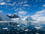 Glacier, Western Antarctic Peninsula, Antarctica Photographic Print by Steve Kazlowski