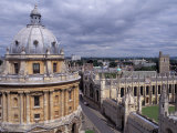 Radcliffe Camera and All Souls College, Oxford, England Photographic Print by Alan Klehr