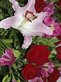 Flower Arrangement, Amsterdam, Netherlands Photographic Print by Marilyn Parver