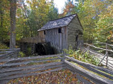 Cable Mill in Cades Cove, Great Smoky Mountains National Park, Tennessee, USA Photographic Print by Diane Johnson