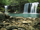 Twin Falls, Ozark-St Francis National Forest, Arkansas, USA Photographic Print by Charles Gurche