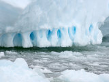 Edge of An Iceberg, Western Antarctic Peninsula, Antarctica Photographic Print by Steve Kazlowski