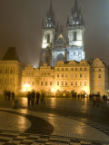 Old Town Square and Church of Our Lady Before Tyn, Prague, Czech Republic Photographic Print by Alan Klehr